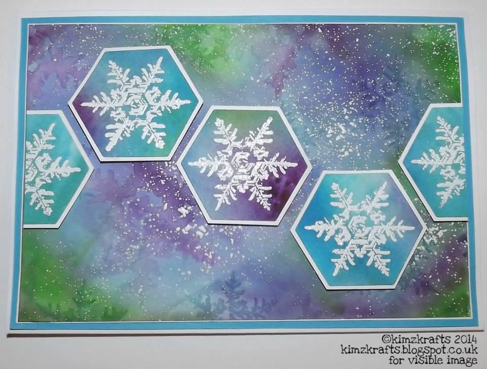 Visible Image stamps - Enchanting Snowflakes - Kim Bacon