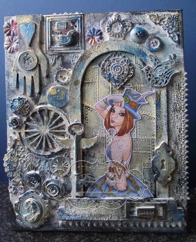 Teresa Morgan - thefatcactus.co.uk - steampunk canvas