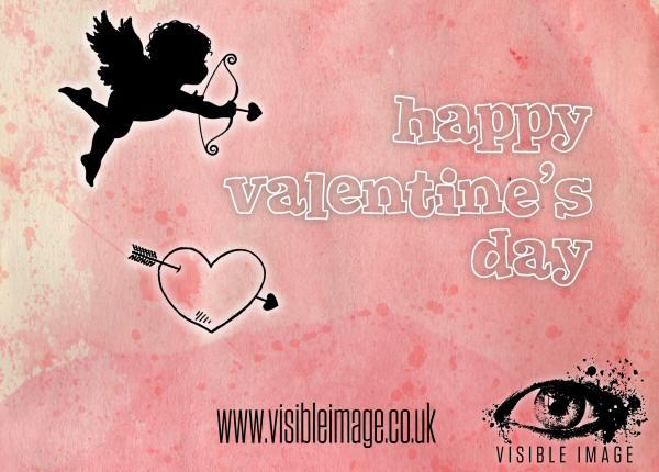 Visible Image Cupid Valentine stamp set FB