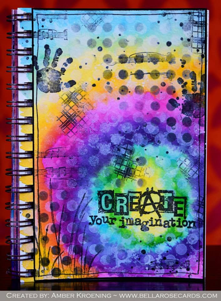 Visible Image stamps - Create Your Imagination - Background stamps - Amber Kroening