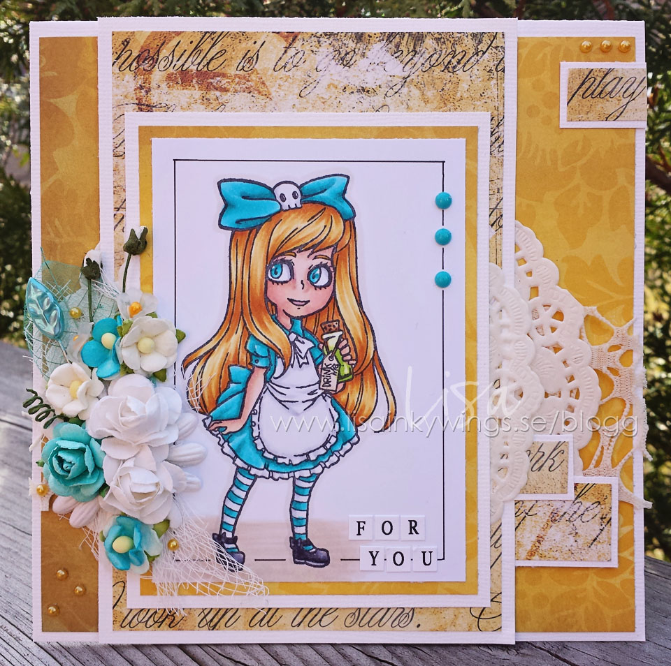 Visible Image stamps - Alice In Wonderland - Lisa Nygards 1