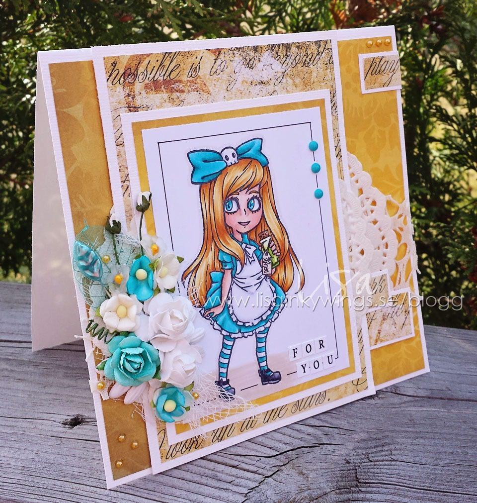 Visible Image stamps - Alice In Wonderland - Lisa Nygards