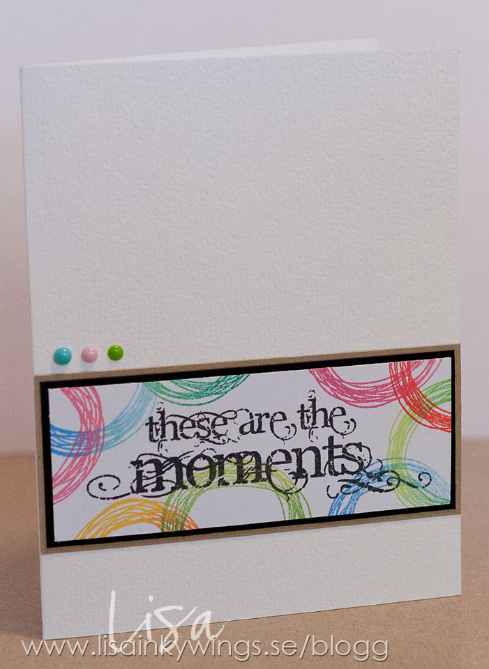 Visible Image stamps - These Are The Moments - Scribbled circle -inkywings 1- 2015