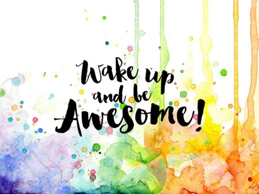 wake-up-awesome-col-sentiment-stamp