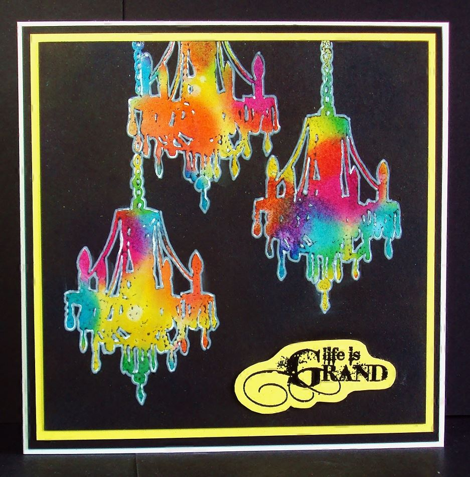 2015-08-28 Visible Image stamps - Chandelier Set - Stamping inspiration - Pauline Butcher
