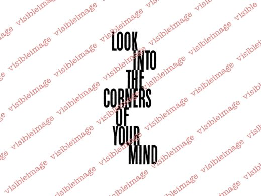 Visible Image Corners of your Mind sentiment stamp