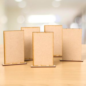 Visible Image MDF Monoliths - Freestanding MDF plaques