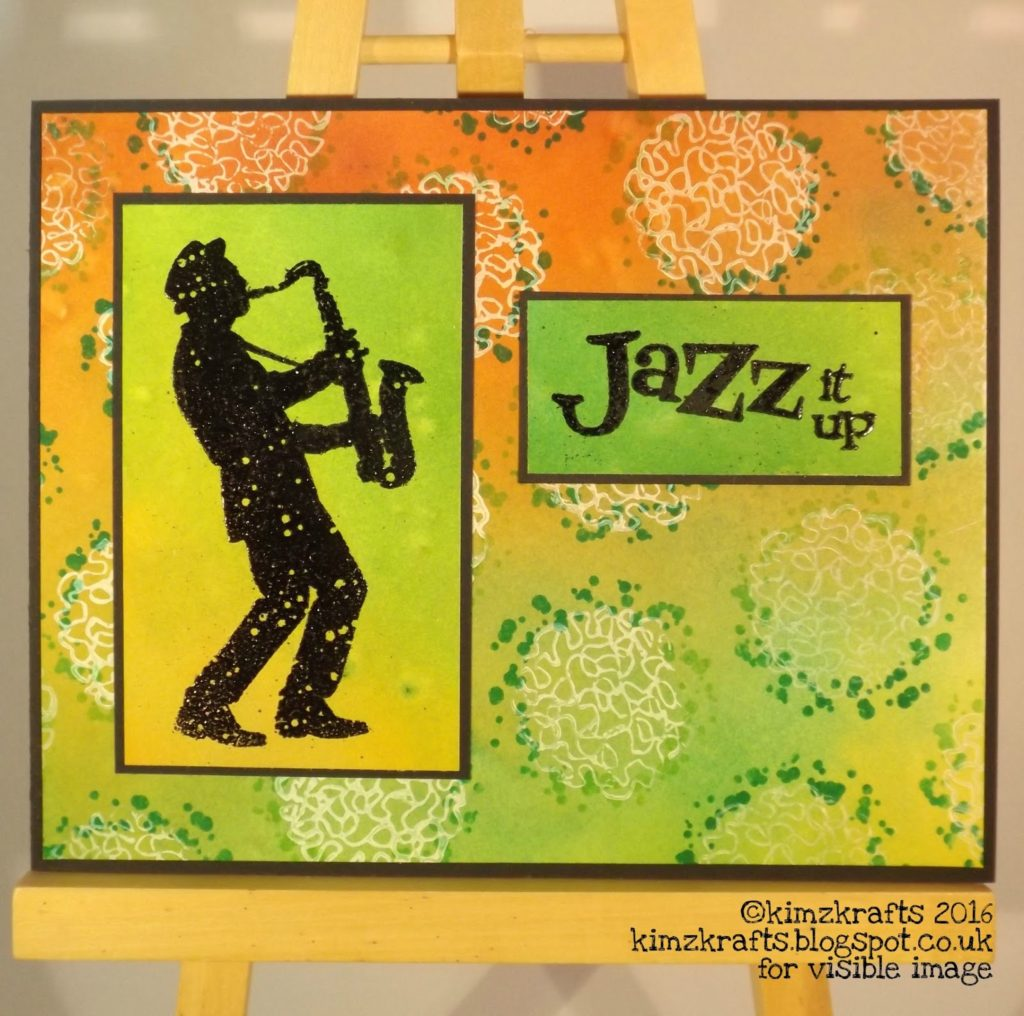 Visible Image stamps - Jazz It Up - Kim Bacon
