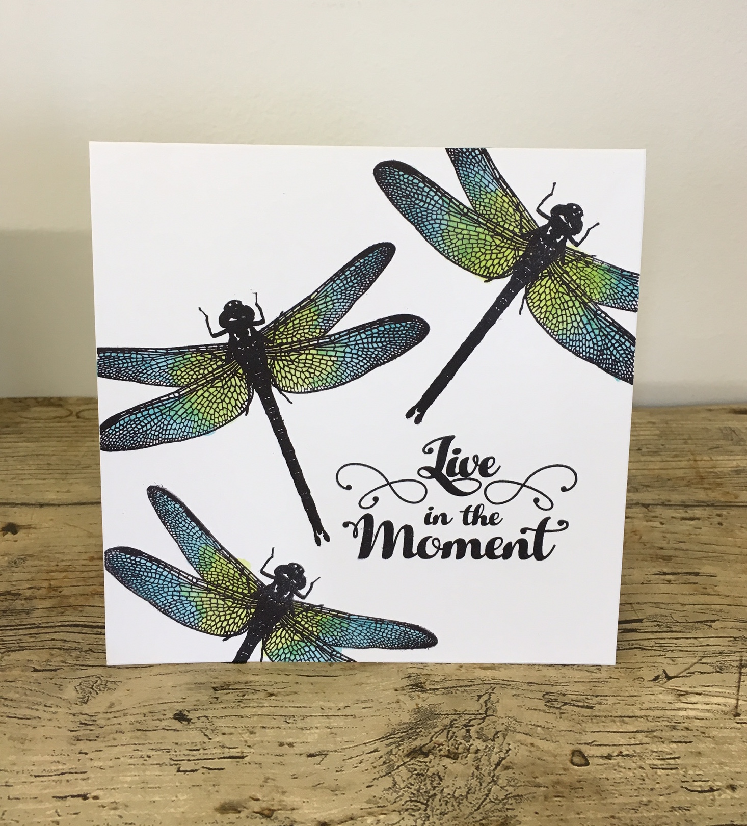 Visible Image stamps - Live In The Moment - Katy Leitch