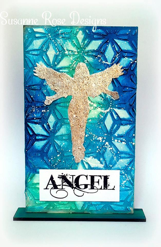 Visible Image stamps - MDF Monolith - Angels - Angel stamp - Susanne Rose
