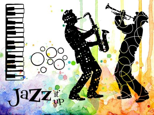 visible-image-jazz-it-up-sax-trumpet-col-stamp-set