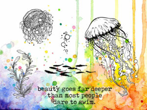 Visible Image Dare To Swim jellyfish COL stamp set.jpg