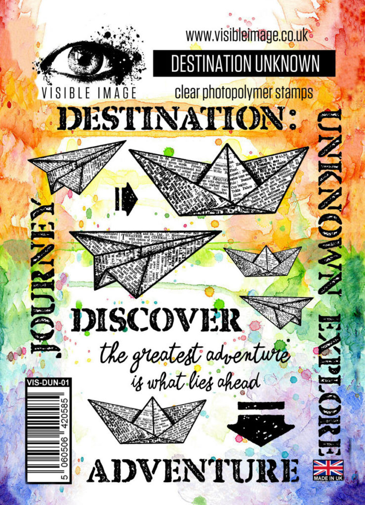 paper boats - stamps - planes - destination - journey