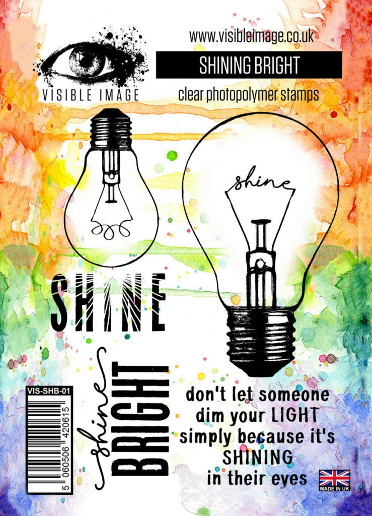 light bulb stamp | shine bright