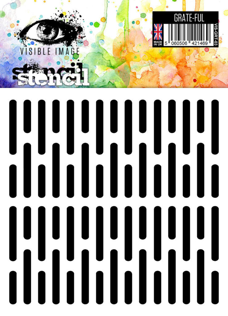 grate effect - background - stencil