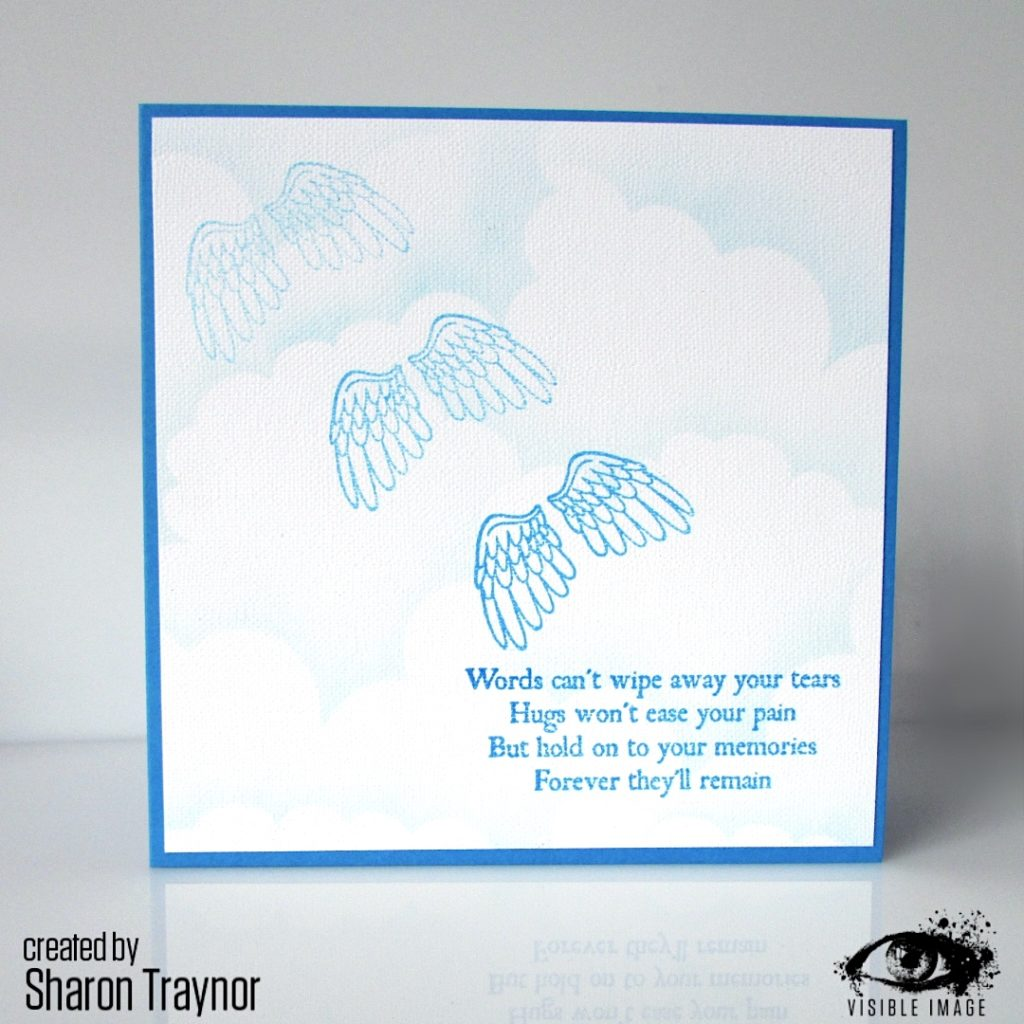 with sympathy card | stamp |verse
